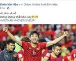 Cầu thủ Việt Nam trải lòng trên Facbook sau chiến thắng trước Jordan