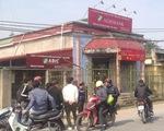 Táo tợn cướp Ngân hàng Agribank tại Thái Bình giữa ban ngày
