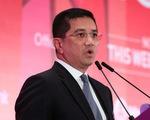 Malaysia hủy dự án đường sắt 20 tỉ USD của nhà thầu Trung Quốc