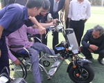 Sinh viên chế tạo xe