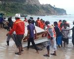 Nhiều tàu trú bão ở đảo Thổ Châu và Nam Du bị sóng đánh chìm