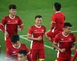 Tuyển Việt Nam hối hả tập luyện tại UAE