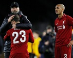 Liverpool bị Wolverhampton loại khỏi FA Cup