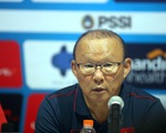 HLV Park Hang Seo từ chối đánh giá về Indonesia