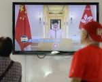 Lãnh đạo Hong Kong bị phản ứng tới mức không đọc nổi diễn văn