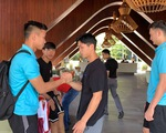 Văn Hậu, Công Phượng, Văn Lâm chia tay các đồng đội rời Bali