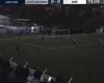Trận đấu 'kỳ lạ', cầu thủ ghi bàn nhưng không ai nhìn thấy vì… quá tối