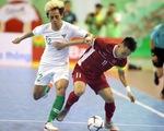 Futsal Việt Nam hòa Indonesia ở giải Đông Nam Á 2019