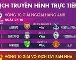 Lịch trực tiếp, kèo nhà cái, dự đoán kết quả bóng đá 27-10: Liverpool gặp Tottenham