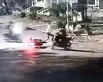 Truy bắt nhóm cướp xe máy táo tợn trên đường Nguyễn Văn Linh, quận 7