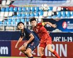 U19 Việt Nam thắng Thái Lan 2-0 ở Giải U19 nữ vô địch châu Á 2019