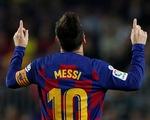 Messi trở lại đỉnh cao, Barca đè bẹp Valladolid