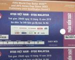"""Vé """"chợ đen"""" trận Việt Nam - Malaysia lên tới 5-6 triệu đồng/cặp"""