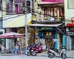 Vẽ phố cổ Hà Nội bằng cả hồi ức và trái tim