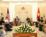 Việt Nam - Mỹ nhất trí tiếp tục thúc đẩy hợp tác quốc phòng