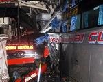 3 xe khách tông nhau liên hoàn trên đường Hồ Chí Minh