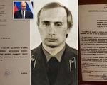 """""""Giải mật"""" hồ sơ điệp viên ông Putin thời làm cho KGB"""