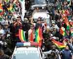 Tổng thống Bolivia từ chức sau 3 tuần tuyên bố đắc cử