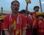 Video: Hàng nghìn cổ động viên tại SVĐ Mỹ Đình