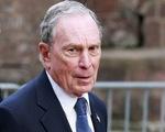 Tỉ phú Bloomberg chi 100 triệu USD cho chiến dịch quảng cáo