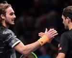 Thất bại trước Tsitsipas, Federer dừng bước ở bán kết ATP Finals