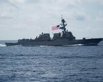 Áp sát Hoàng Sa, Trường Sa, hai tàu chiến Mỹ thách thức Trung Quốc