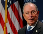 Tỉ phú Bloomberg tuyên bố tranh cử tổng thống Mỹ, đối đầu ông Trump