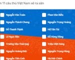 Mời bạn đọc dự đoán đội hình xuất phát của U22 Việt Nam trước Singapore