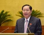 Quốc hội yêu cầu thay thế cán bộ, công chức yếu kém