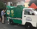 Thiếu tiền để chuyển đổi xe thu gom rác