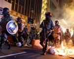 Bạo lực bùng phát dữ dội ở Hong Kong, văn phòng Tân Hoa xã bị đập phá