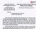 Phú Yên cho học sinh nghỉ ngày 11-11, cấm biển từ ngày 9 để tránh bão số 6