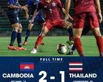 U19 Thái Lan thua
