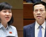 Bộ trưởng Nguyễn Mạnh Hùng: Người ung thư bị xúc phạm nên trình báo, kiện ra tòa