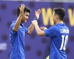 Thắng Singapore, U22 Thái Lan trở lại cuộc đua tranh vé đi tiếp