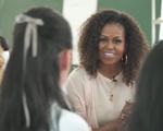 Video bà Michelle Obama tạo dáng