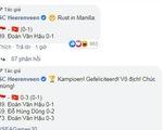 CLB Heerenveen của Đoàn Văn Hậu: