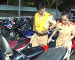 Video: Tạm giữ hàng trăm xe máy