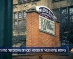Phát hiện máy quay lén trong phòng khách sạn khi học sinh trung học di dã ngoại
