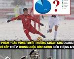 Cộng đồng mạng kêu gọi, Quang Hải dẫn đầu