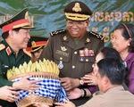 Đại tướng Ngô Xuân Lịch: Diễn tập Việt Nam - Campuchia nâng tính chủ động quân đội hai nước