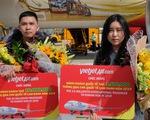Tăng đường bay thẳng, Khánh Hòa đón vị khách quốc tế thứ 3,5 triệu