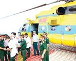 Bước tiến mới - cấp cứu bằng trực thăng