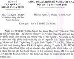 Yêu cầu cơ sở thẩm mỹ Linh Anh ngưng ngay quảng cáo khám, chữa bệnh