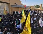 Mỹ sơ tán đại sứ quán ở Iraq vì biểu tình