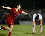 Thắng Philippines, nữ Việt Nam gặp lại Thái Lan ở chung kết SEA Games 2019