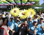 'Đường đua hoa mặt trời' cự ly 4km vì bệnh nhi ung thư