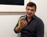 Trái chuối gần 3 tỉ đồng bị xơi ngay tại triển lãm