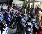 Tạm giữ hơn 200 xe máy