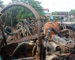 Cát tặc trên sông Đồng Nai hoạt động mạnh ngày cận tết